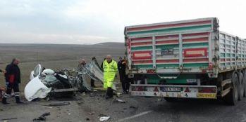 Feci kaza: 1'i bebek 4 ölü, 1 yaralı