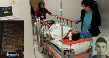 İnşaatın 4. katından düşen 2 genç ağır yaralandı