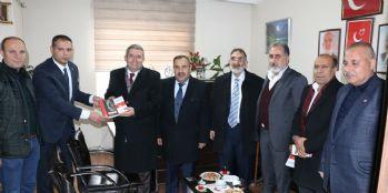 Van TSO'dan siyasi partilere ziyaret