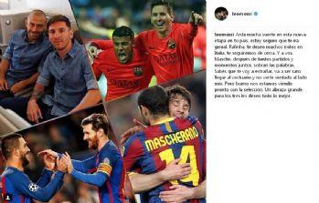 Messi'den Turan'a veda
