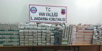 Van'da 35 bin 652 tablet ilaç ele geçirildi