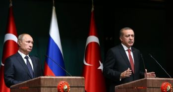 Cumhurbaşkanı Erdoğan Putin'le görüştü
