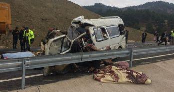 Feci kaza: 9 ölü, 7 yaralı