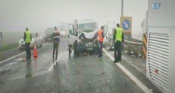 TEM'de feci kaza! 1 kişi hayatını kaybetti