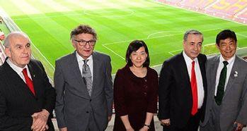 Japon Büyükelçiden Galatasaray'a ziyaret