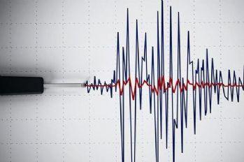 Amasya'da 3.8'lik deprem
