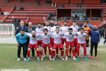 Yüksekova Belediyespor, Erciş Spor'u 3-0 Yendi