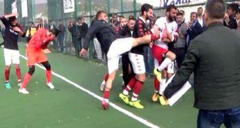 Yüksekova Belediyespor maçında olaylar çıktı!