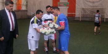 Özalp Belediyesinden futbol turnuvası