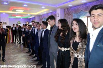 Yüksekova Atatürk Anadolu Lisesinden 'Veda Gecesi'