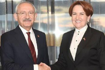 Akşener ve Kılıçdaroğlu görüştü