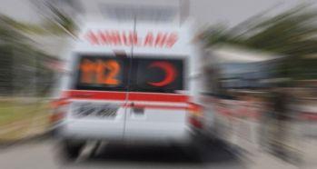 Afganlı kaçakları taşıyan minibüs devrildi: 37 yaralı