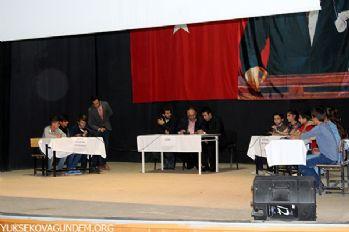 Yüksekova'da öğrenciler arası bilgi yarışması