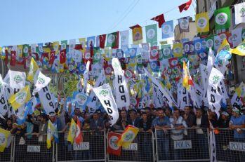 Hakkkari'de HDP mitingi
