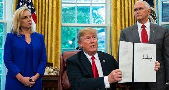 Trump,o kararnameyi imzaladı