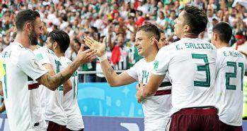Meksika, Güney Kore'yi 2 golle geçti