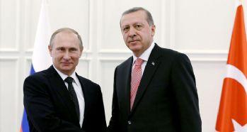 Putin'den Erdoğan'a tebrik!