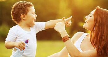 Güneş yaz aylarında çocuğunuzun kabusu olmasın