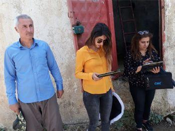 Köy köy dolaşıp köylerdeki faaliyetleri analiz ediyorlar