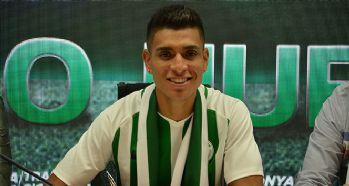 Paolo Hurtado, Atiker Konyaspor'a imzayı attı