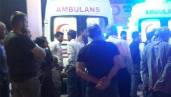 Yüksekova'da trafik kazası: 10 yaralıı