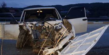 Korkunç kaza! Sürücü feci şekilde hayatını kaybetti