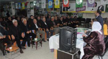 Yüksekova'da HDP ve DBP'den halk toplantısı