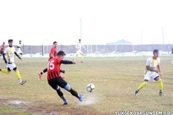 Yüksekova Belediyespor-Muş Menderes Spor: 1-1