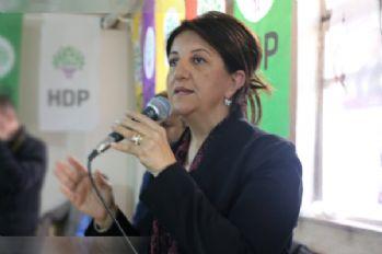 HDP Eş Genel Başkanı Buldan Yüksekova'da