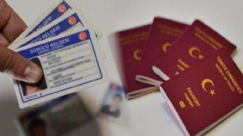 Ehliyet,Kimlik ve Pasaport zamlandı