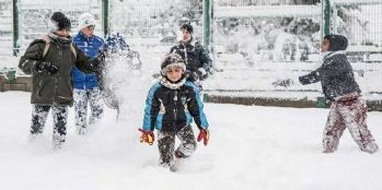 Hakkari'de kar tatili