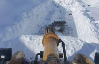 Hakkari'de 11 yerleşim yerinin yolu kapandı