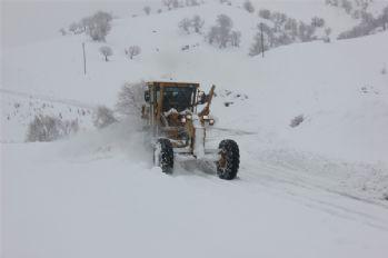 39 köy yolu kar nedeniyle kapandı