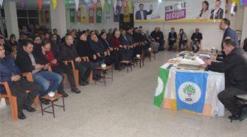 Yüksekova'da HDP'den seçim süreci toplantısı
