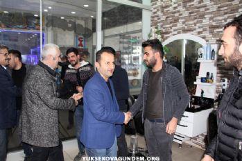 HDP Belediye Eş Başkan Adayları esnafı ziyaret etti