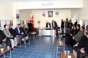 AK Partili Zeydan'a tebrik ziyaretleri sürüyor