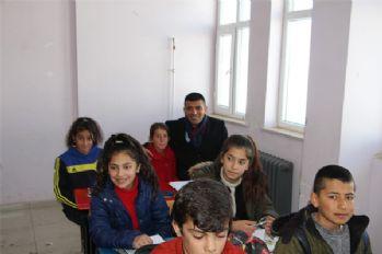 Müdür Canlı'dan köy okullarına ziyaret