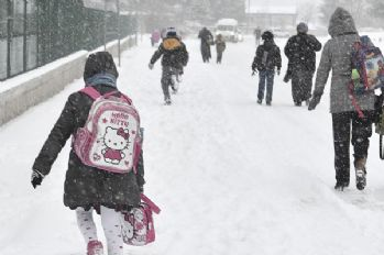 Van'da okullar tatil edildi