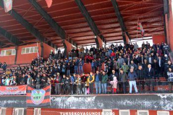 Yüksekova Belediyespor 4-1 mağlup oldu