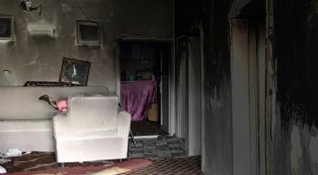 Yüksekova'da ev yangını