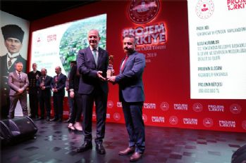 Yüksekova Belediyesine proje ödülü
