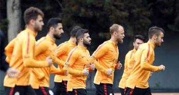 Galatasaray Fenerbahçe maçı hazırlıklarını sürdürdü!