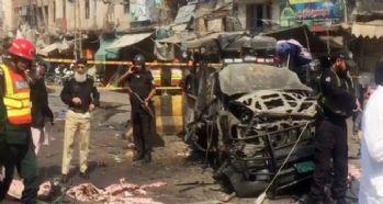 Pakistan'da patlama: 9 ölü, 24 yaralı