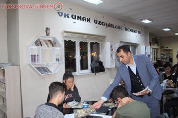 Yüksekova'da öğrencilere kitap desteği