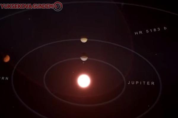 Olağanüstü yörüngeye sahip devasa bir gezegen keşfedildi