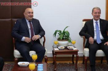 Hulusi Akar, CHP'yi ziyaret etti