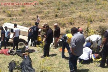 Van'da kaza: 15 ölü, 49 yaralı