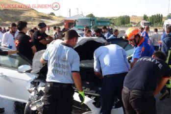 Van'da trafik kazası: 6 yaralı