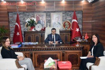 ADEM yetkililerinden Kaymakam Doğramacı'ya ziyaret