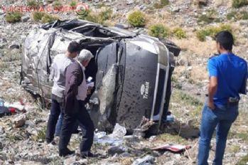 Van'da trafik kazası; 1 ölü, 1 yaralı